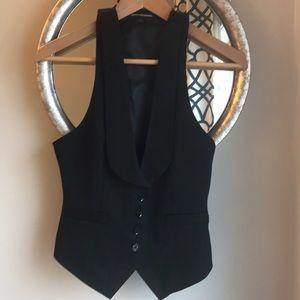 NWT Express Pin Stripe Suit Vest Size 2